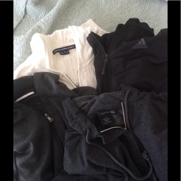 newest 213a0 3a1d0 Calvin Klein Ralph Lauren Tahari Adidas Jackets   Blazers - LOOK!!! Hoodies,
